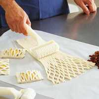 Dough Bread Cookies Pie Cake Cutter Lattice Pastry Cutter Roller