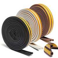 Weather Draught Self Adhesive P Type Foam Seal Strip Rubber Seal 5M