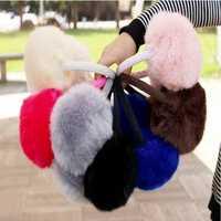 Women Girls Winter Cute Faux Fur Warm Ear Muffs Random Delivery