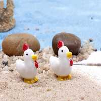 DIY Miniature Cute Chick Ornaments Potted Plant Garden Decor