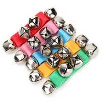 4Pcs Baby Kids Wrist Ankle Bell 4 Jingle Bell Strap Bracelet Early Musical Toys