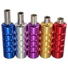 Acheter 5 Colors Aluminum Tattoo Machine Gun Grip Tube Kit with Backstem