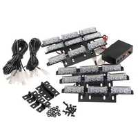 54 LED Vehicle Strobe Lights Light Bar For Emergency Frontgrill/Deck