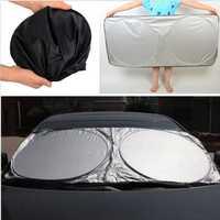 Car Sunshade Front Rear Window Wind Shield Visor Cover UV Reflector