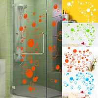 42x21cm Bubbles Wall Sticker Bathroom Window Shower Tile Art Decoration