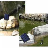 7.2V Solar Power Garden Landscape Fountain Electric Storage DC Brushless Water Pump