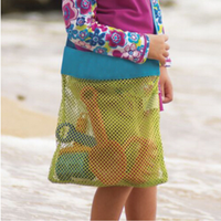 Children Kids Portable Bag Beach Shell Tool Toy Pouch