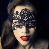 Sexy Lace Prom Masquerade Ball Mask Costume Ball Mask Black White