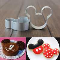 5Pcs Cartoon Cake Cookies Cutters Sugarcraft Cake Decorating Tool