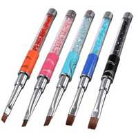 Crystal Carve Nylon Fiber Acrylic Pen Painting Drawing Nail Art Brush