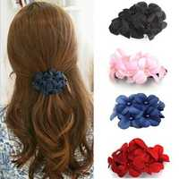 Sweet Barrette Girls Hair Accessories Flower Hair Clip Hairpins