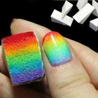 8pcs DIY Sponge Creative Nail Art Tools