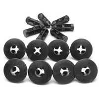 10pcs 8mm Rivets Trim Panel Clips For Suzuki Bumpers Sills 09409073085PK