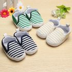 Cheap Discount Toddler Baby Infant Naval Stripe Walkers Soft Soles Crib Shoes