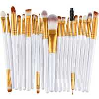 20Pcs Multifunctional Face Makeup Brushes