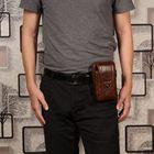 Promotion Cowhide Multi-function Phone Purse Vintage Crossbody Bag
