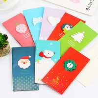 Christmas Greeting Card Christmas Gifts Party Greeting Card Stereo Card with Packing Envelope Card