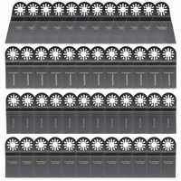 48pcs Saw Blades Oscillating Multitool Set Kit for Fein Multimaster Bosch