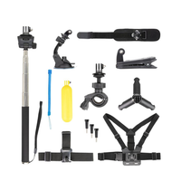 Self-timer Extension Rod Tripod Hand Strap Accessories Kits For DJI Osmo Action Multi-function Suit