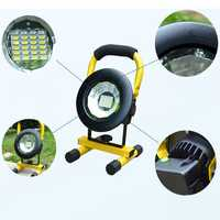 A08483 2400Lumens 3Modes LED Portable COB Flood Light LED Flashlight Work Light