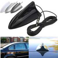 Universal Black Shark Fin Car Truck RV Radio Stereo Antenna