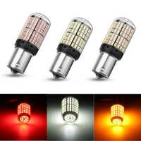 1Pcs 1156 BA15S LED Car Brake Stop Lights Turn Signal Reverse Lamp Bulb 4.2W 864LM Red/Yellow/White