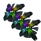 Bon prix DarkFlash 3in1 CPU Cooling Fans 120mm RGB Computer Case Cooler Frameless LED Cooling Radiator for Inter and AMD