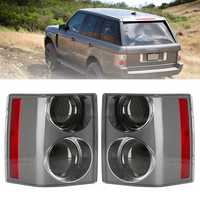 Car Tail Light Assembly Rear Brake Lamp Black+Black Left/Right for Range Rover Vogue L322 2002-2009