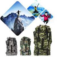 90L Waterproof Nylon Multifunctional Backpack Outdoor Tactical Hiking Climbing Bag