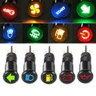 Promotion 12/24/36V 12MM LED Dashboard Warning Signal Light Van Dash Panel Indicator Lamp