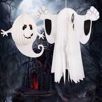 Paper Hanging Ghost Window Door Hanger Halloween Party Decoration Prop