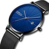 CRRJU 2216 Business Style Date Display Men Wrist Watch