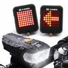 Offres Flash XANES 600LM German Standard Bike Front Light 64 LED Intelligent Brake Warning Bicycle Taillight Set
