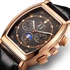 Les plus populaires TEVISE 8383A Week Date Display Automatic Mechanical Watch Business Style Men Wrist Watch