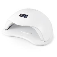 72W New White LED UV Lamp Time Setting Nail Art Dryer