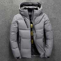 Mens Winter Windproof Waterproof Thick Warm Down Jacket