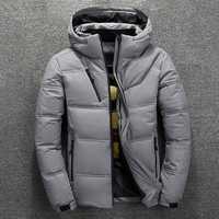 Mens Winter Windproof Waterproof Thick Warm Down Jacket