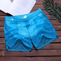 Quick Dry Thin Transparent Breathable Swimming Board Shorts