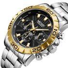 Meilleurs prix MEGIR 2087 Business Hardlex Mirror Luminous Men Quartz Watch