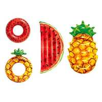 Bestway Watermelon Pineapple Inflatable Floating Mat Swimming Ring Beach Water Pool Party Toy from Xiaomi Youpin