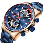 Promotion MINI FOCUS MF0218G Working Little Dial Men Wristwatch