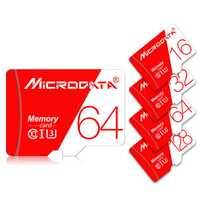 MicroData 16GB 32GB 64GB 128GB Class 10 High Speed Max 80Mb/s TF Memory Card With Card Adapter For Mobile Phone Tablet GPS Camera