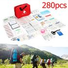 Promotion 280PCS 34Types Emergency First Aid Kit Outdoor Survival Hiking Climbing Camping Rescue Kits