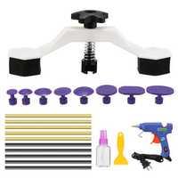 PDR Paintless Dent Repair Puller Bridge Tool Car Body Damage Removal Tool Kit