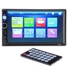 Prix de gros 7 Inch 2 Din Stereo Car MP5 Player bluetooth Touch Screen Radio FM USB AUX + Camera