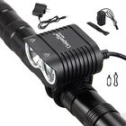 Les plus populaires L2 LED Bicycle Headlamp Cycling Bike Light Headlight