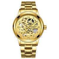Deffrun 6018 Business Style Automatic Mechanical Watch