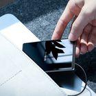 Acheter Baseus Mini Card Design 15W Qi Wireless Charger Fast Wireless Charging Pad for iPhone X XR XS Samsung S10 Xiaomi mi 9 Huawei