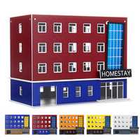 1/150 Scale Outland Building Model N Gauge Scene Modern School Dormitory