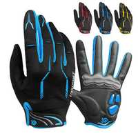 CoolChange LSR Gel Pad Bike Gloves Winter Warm Racing Motorcycle Cycling Touchscreen Full Finger